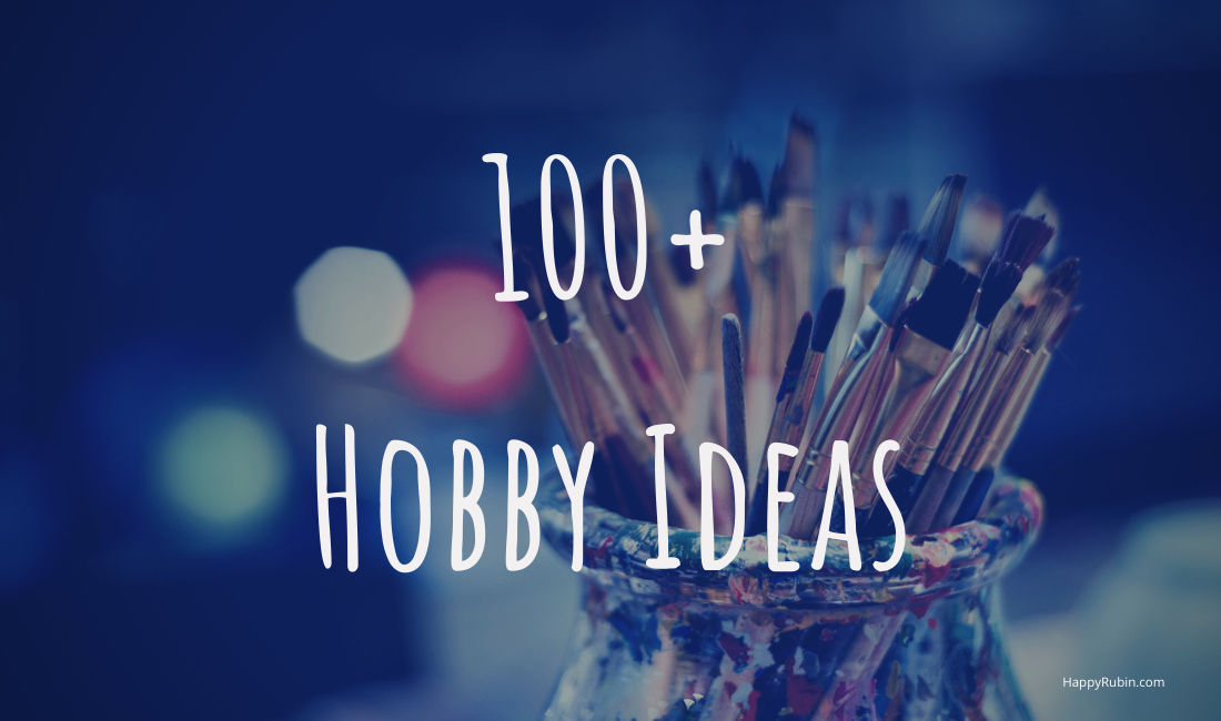 all hobby ideas list