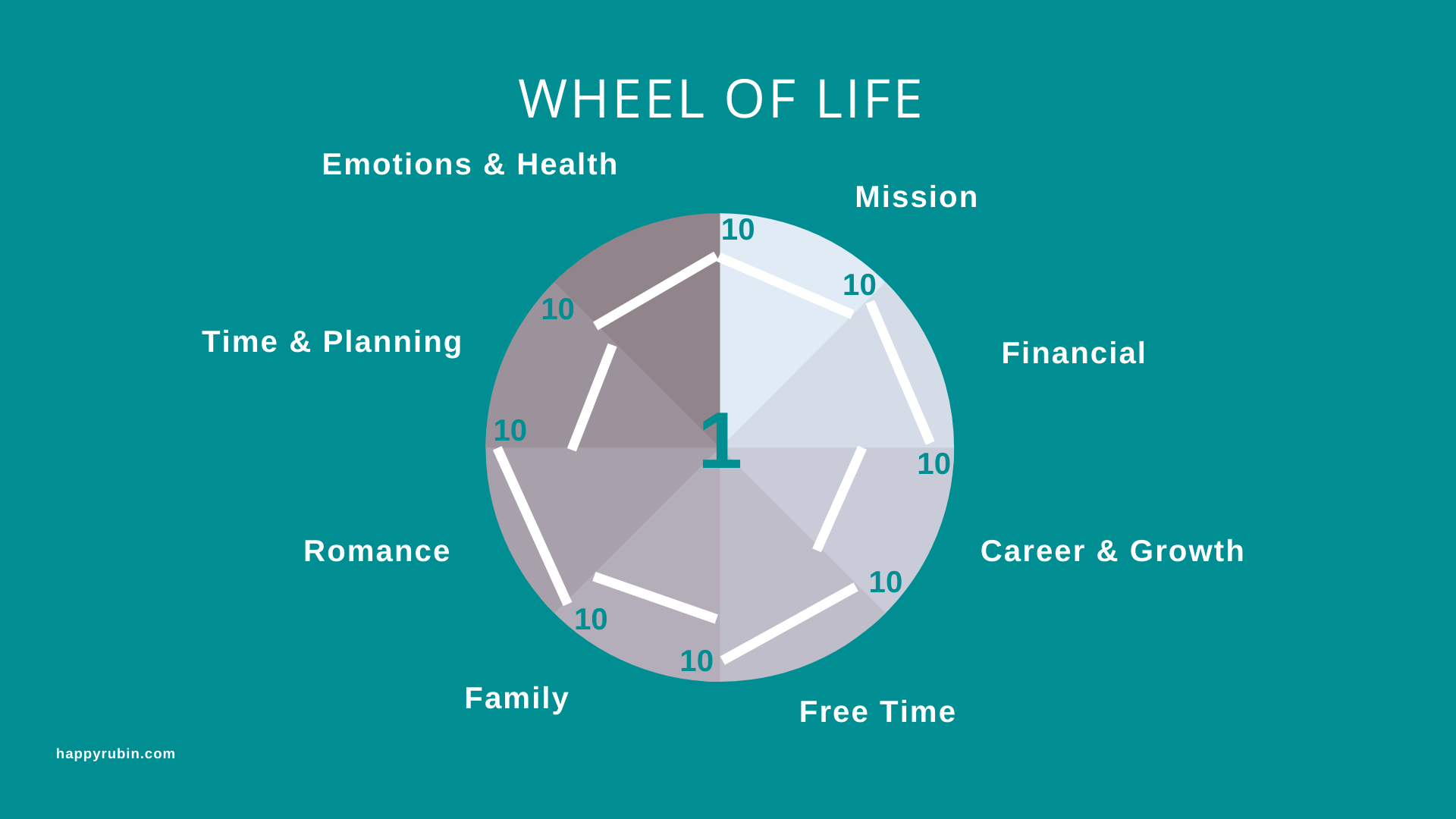 wheel of life excercise